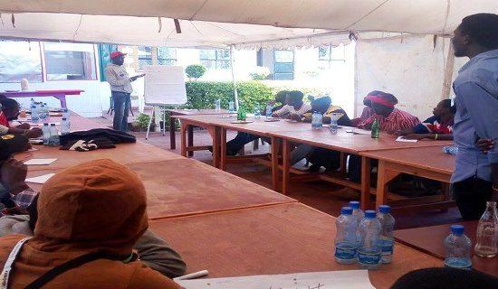positive masculinities training Kikuyu